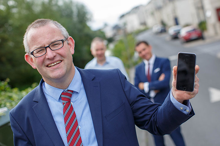Joseph Farrell, Principal with Farrell McElwee Solicitors